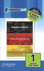 NELSON MODERN HISTORY: REPUBLIC TO REICH: A HISTORY OF GERMANY EBOOK 4E