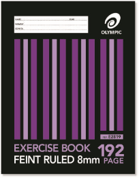 192 PAGE A4 EXERCISE BOOK
