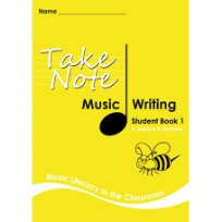TAKE NOTE MUSIC: STUDENT WRITING BOOK 1 2E