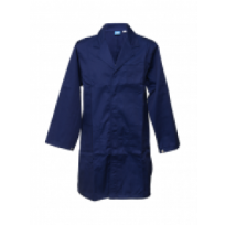 LABORATORY COAT NAVY LIGHT WEIGHT JUNIOR