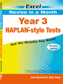 YEAR 3 REVISE IN A MONTH NAPLAN* - STYLE TESTS