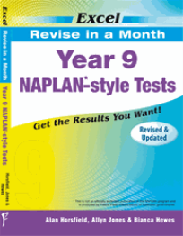 YEAR 9 REVISE IN A MONTH NAPLAN* - STYLE TESTS