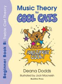 MUSIC THEORY FOR COOL CATS BEGINNER BOOK B