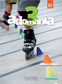 ADOMANIA 3/A2 TEXTBOOK & DVD-ROM