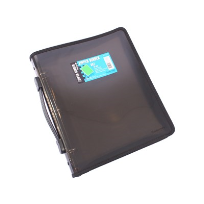 3 'O' RING BINDER A4 25MM WITH ZIPPER WITH HANDLE