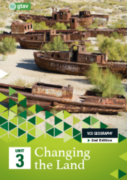 Buy Book - GEOGRAPHY VCE UNITS 3&4: CHANGING THE LAND UNIT 3