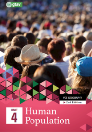 GEOGRAPHY VCE UNITS 3&4: HUMAN POPULATION: TRENDS AND ISSUES UNIT 4 (GTAV) EBOOK 2E (No printing or refunds. Check product description before purchasing)