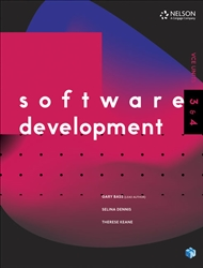 NELSON SOFTWARE DEVELOPMENT VCE UNITS 3&4 + 1 EBOOK ACCESS CODE FOR 26 MONTHS