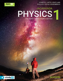JACARANDA PHYSICS 1 VCE UNITS 1&2 LEARNON & PRINT 4E (INCL. STUDYON)
