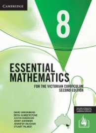 CAMBRIDGE ESSENTIAL MATHEMATICS FOR THE VICTORIAN CURRICULUM YEAR 8 TEXTBOOK + EBOOK 2E