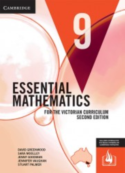 CAMBRIDGE ESSENTIAL MATHEMATICS FOR THE VICTORIAN CURRICULUM YEAR 9 TEXTBOOK + EBOOK 2E