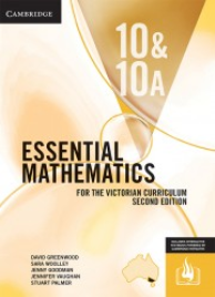 CAMBRIDGE ESSENTIAL MATHEMATICS FOR THE VICTORIAN CURRICULUM YEAR 10/10A TEXTBOOK + EBOOK 2E