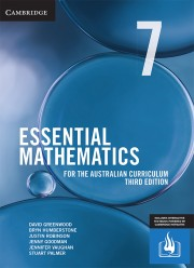 CAMBRIDGE ESSENTIAL MATHEMATICS FOR THE AUSTRALIAN CURRICULUM YEAR 7 TEXTBOOK + EBOOK 3E