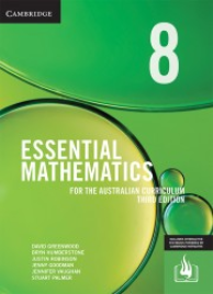 CAMBRIDGE ESSENTIAL MATHEMATICS FOR THE AUSTRALIAN CURRICULUM YEAR 8 TEXTBOOK + EBOOK 3E