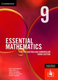 CAMBRIDGE ESSENTIAL MATHEMATICS FOR THE AUSTRALIAN CURRICULUM YEAR 9 TEXTBOOK + EBOOK 3E