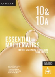 CAMBRIDGE ESSENTIAL MATHEMATICS FOR THE AUSTRALIAN CURRICULUM YEAR 10/10A TEXTBOOK + EBOOK 3E