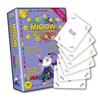 MAGIC 100 WORDS PLAYING CARDS (1-100)