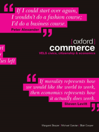 OXFORD COMMERCE CIVICS, ECONOMICS & CITIZENSHIP