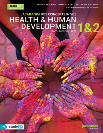 JACARANDA KEY CONCEPTS IN VCE HEALTH & HUMAN DEVELOPMENT UNITS 1&2 LEARNON EBOOK 6E (INCL. STUDYON)