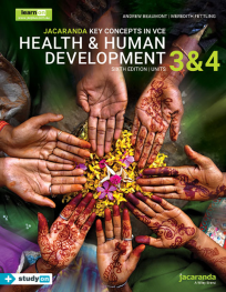 JACARANDA KEY CONCEPTS IN VCE HEALTH & HUMAN DEVELOPMENT UNITS 3&4 LEARNON EBOOK 6E (INCL. STUDYON)