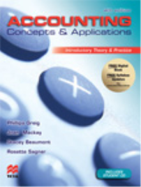 ACCOUNTING CONCEPTS & APPLICATIONS