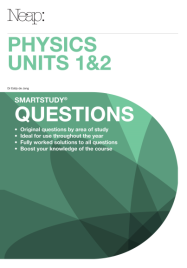 NEAP SMARTSTUDY QUESTIONS: PHYSICS VCE UNITS 1&2
