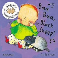 BAA BAA BLACK SHEEP - BABY SIGN BOARD BOOK - AUSLAN EDITION