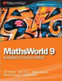 MATHSWORLD 9 AUSTRALIAN CURRICULUM EDITION