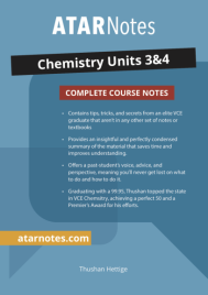 ATARNOTES VCE CHEMISTRY UNITS 3&4 NOTES 2E