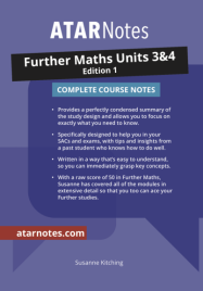 ATARNOTES VCE FURTHER MATHS UNITS 3&4 NOTES 1E