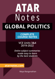 ATARNOTES VCE GLOBAL POLITICS UNITS 3&4 NOTES