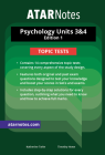 ATARNOTES VCE PSYCHOLOGY UNITS 3&4 TOPIC TESTS