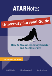 ATARNOTES UNIVERSITY SURVIVAL GUIDE