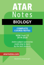 ATAR NOTES HSC: BIOLOGY YEAR 12 NOTES