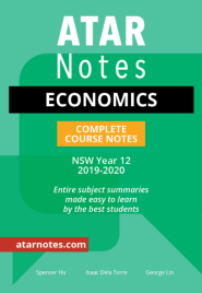 ATAR NOTES HSC: ECONOMICS YEAR 12 NOTES