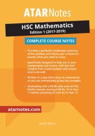 ATAR NOTES HSC: MATHEMATICS NOTES