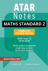 ATAR NOTES HSC: MATHEMATICS STANDARD 2 YEAR 12 NOTES