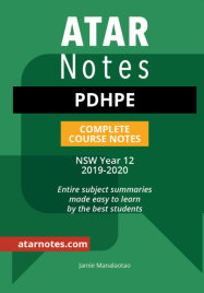 ATAR NOTES HSC: PDHPE YEAR 12 NOTES