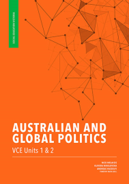 AUSTRALIAN & GLOBAL POLITICS VCE UNIT 1&2 1E