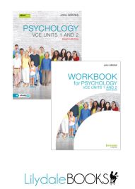 JACARANDA PSYCHOLOGY VCE UNITS 1&2 & EBOOKPLUS 8E + WORKBOOK VALUE PACK