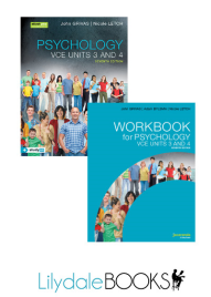 JACARANDA PSYCHOLOGY VCE UNITS 3&4 & EBOOKPLUS 7E (INCL. STUDYON) + WORKBOOK VALUE PACK