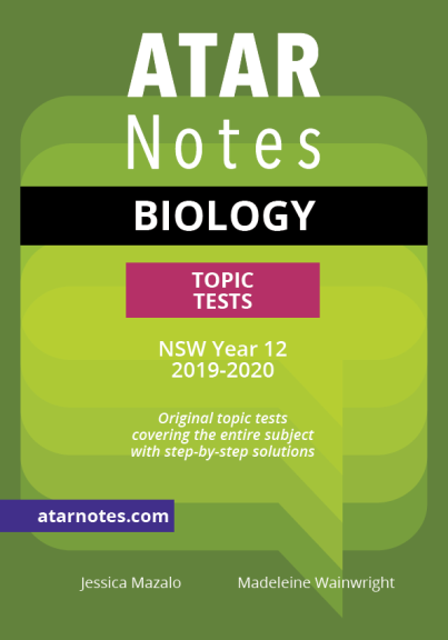 ATARNOTES HSC BIOLOGY YEAR 12 TOPIC TESTS