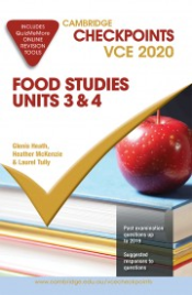 CAMBRIDGE CHECKPOINTS VCE FOOD STUDIES UNITS 3&4 2020 + QUIZ ME MORE
