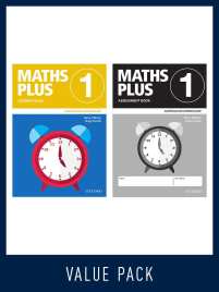 OXFORD MATHS PLUS AC EDITION MENTALS & HOMEWORK BOOK 1 VALUE PACK (2020)