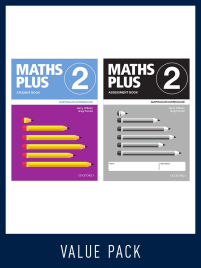 OXFORD MATHS PLUS AC EDITION MENTALS & HOMEWORK BOOK 2 VALUE PACK (2020)