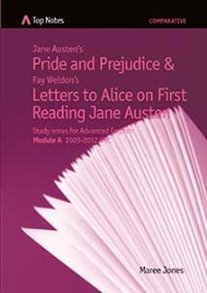 TOP NOTES PRIDE AND PREJUDICE AND LETTERS TO ALICE ON FIRST READING JANE AUSTEN