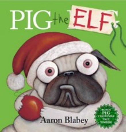 PIG THE ELF (WITH TREE TOPPER)