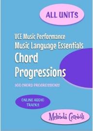 VCE MUSIC LANGUAGE ESSENTIALS CHORD PROGRESSIONS UNITS 1-4
