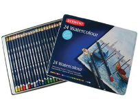 24 DERWENT WATERCOLOUR PENCILS