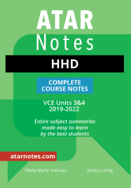 ATARNOTES VCE HEALTH & HUMAN DEVELOPMENT UNITS 3&4 NOTES 3E (Updated 2019-2022)
